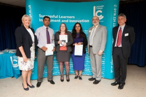 Esta Roony receives Advanced Apprentice of the Year