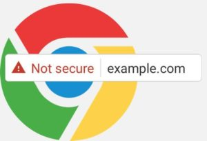 "Google Chrome's ""Not Secure"""