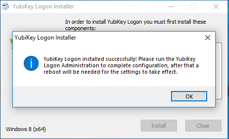 YubiKey for Windows Login 4