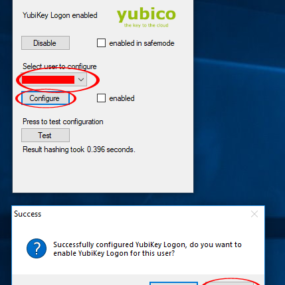 YubiKey for Windows Login 9