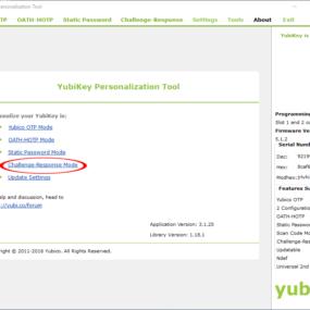 Configuring Yubikey 1