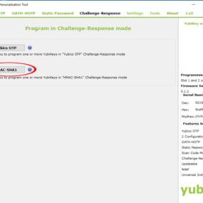 Configuring Yubikey 2
