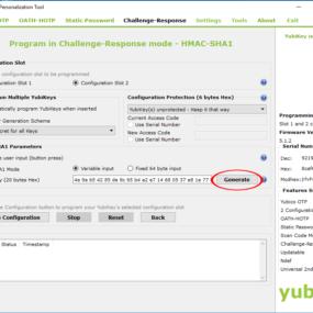Configuring Yubikey 4