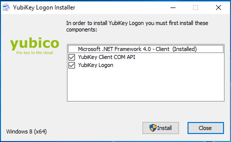 YubiKey for Windows Login 1